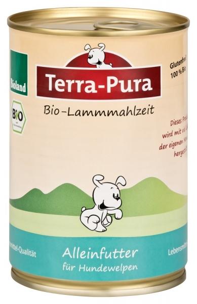 Terra-Pura Welpen Bio-Mahlzeit 400g