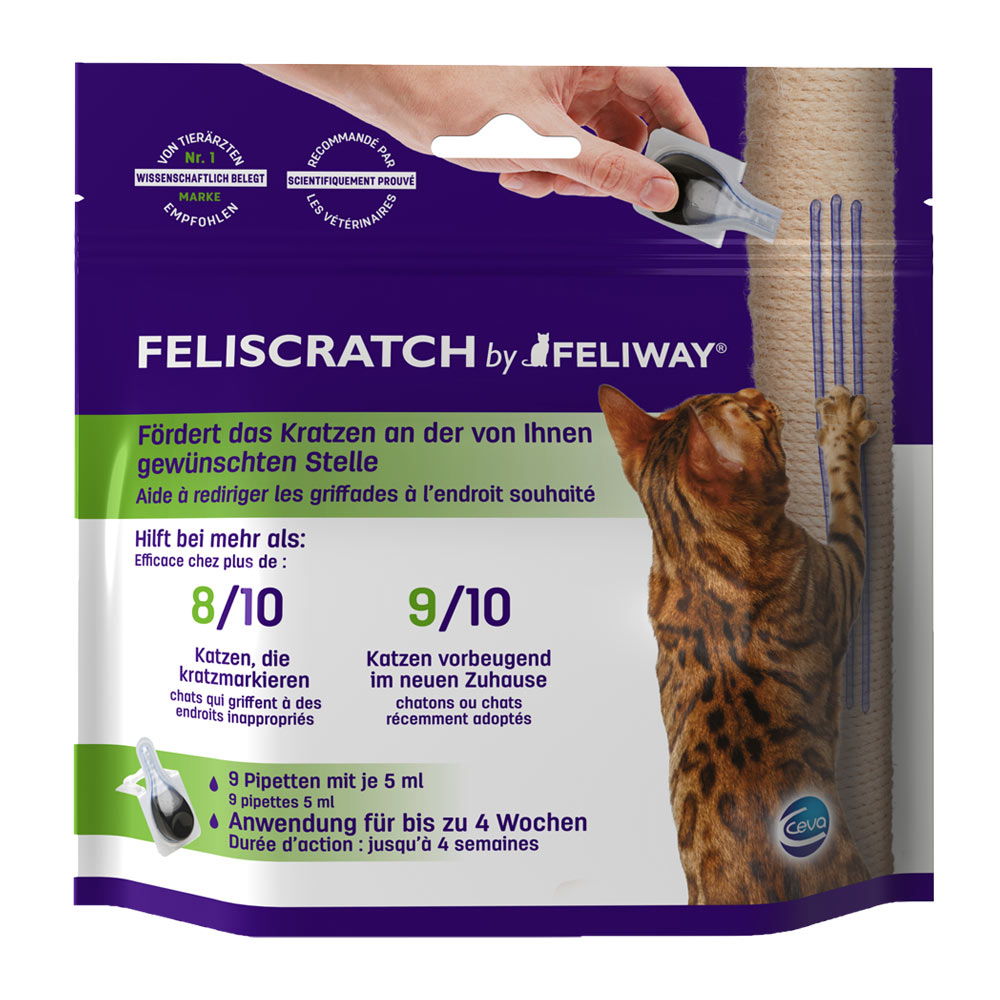 Ceva Cat Feliway FeliScratch 9 x 5ml