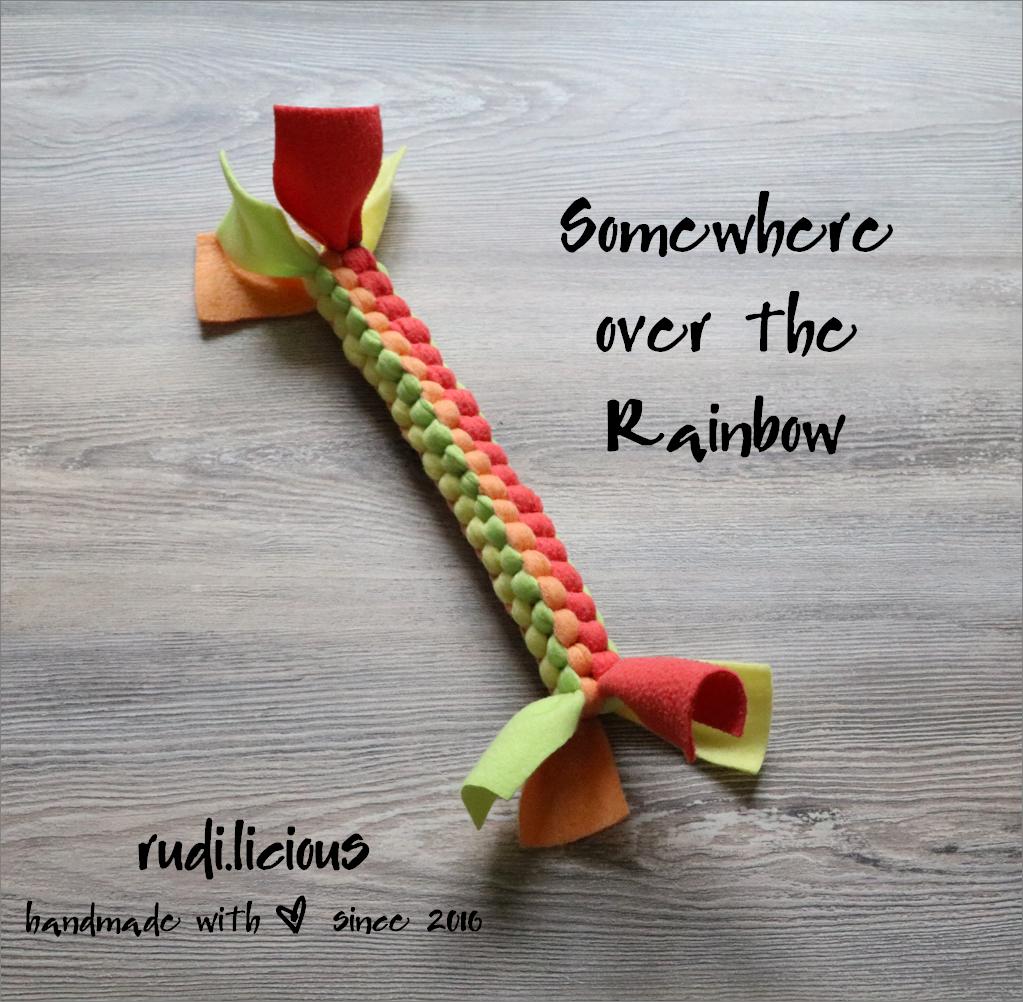 rudi.licious Öko-Tex Tauspielzeug Mini - Somewhere over the Rainbow