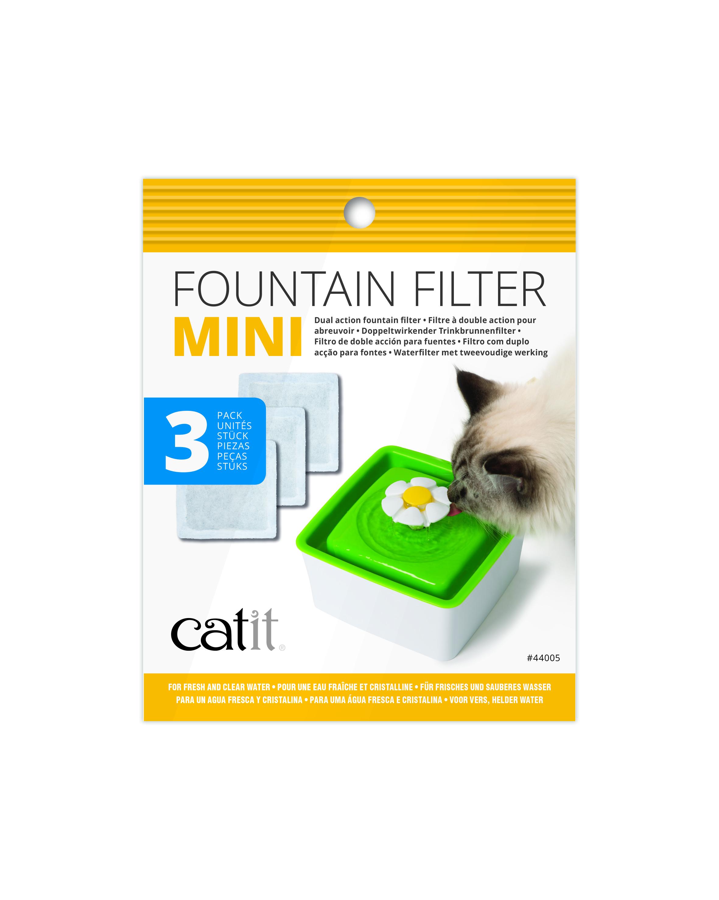Hagen Catit 2.0 Ersatzfilter Mini 3er-Pack