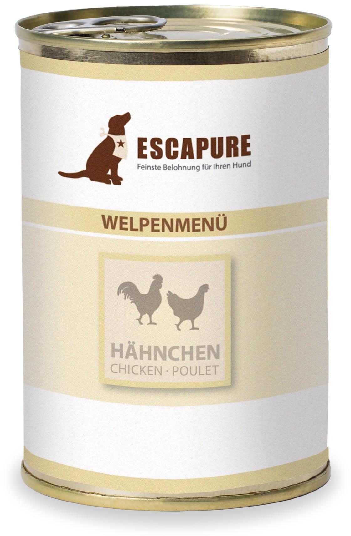 Escapure Welpenmenü 400g