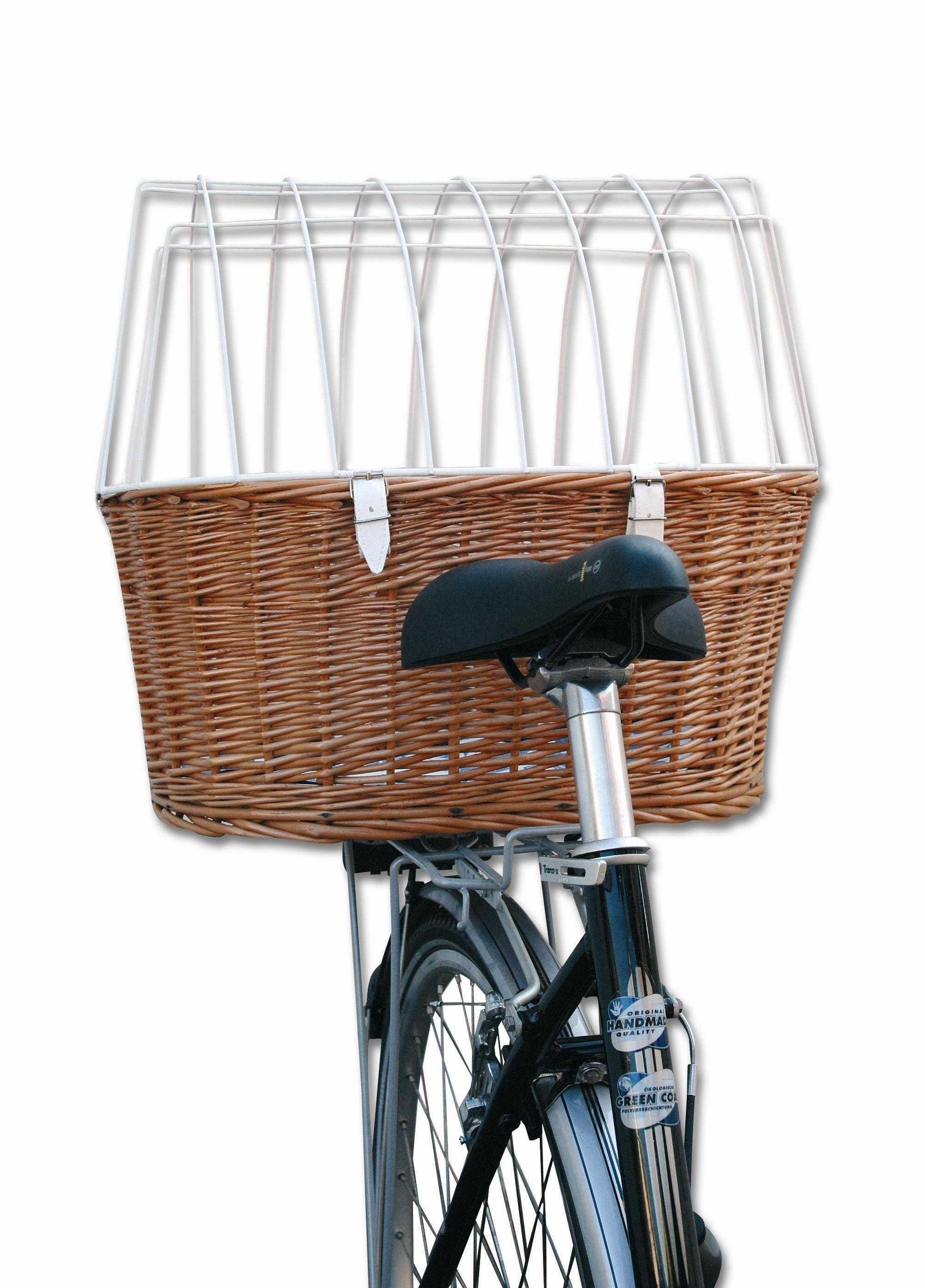 Aumüller Fahrradkorb für Gepäckträgermontage