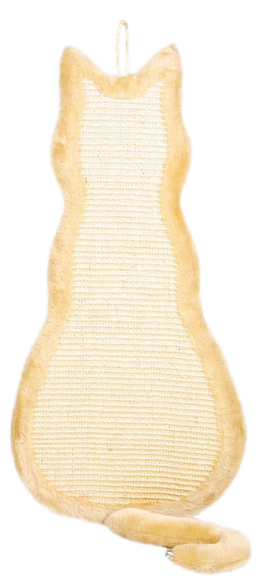 Trixie Kratzbrett Katze 35 × 69cm, natur/beige