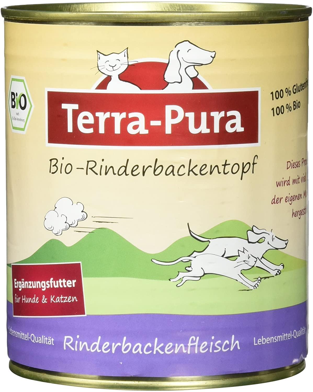 Terra-Pura Bio-Rinderbackentopf 800g