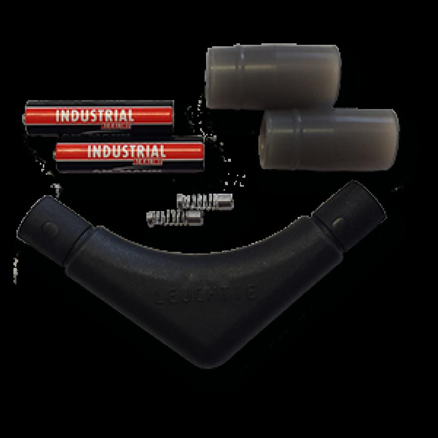 Ersatzteil-Set für LEUCHTIE Premium (Batterieteil, Silikonmuffen, Federn)