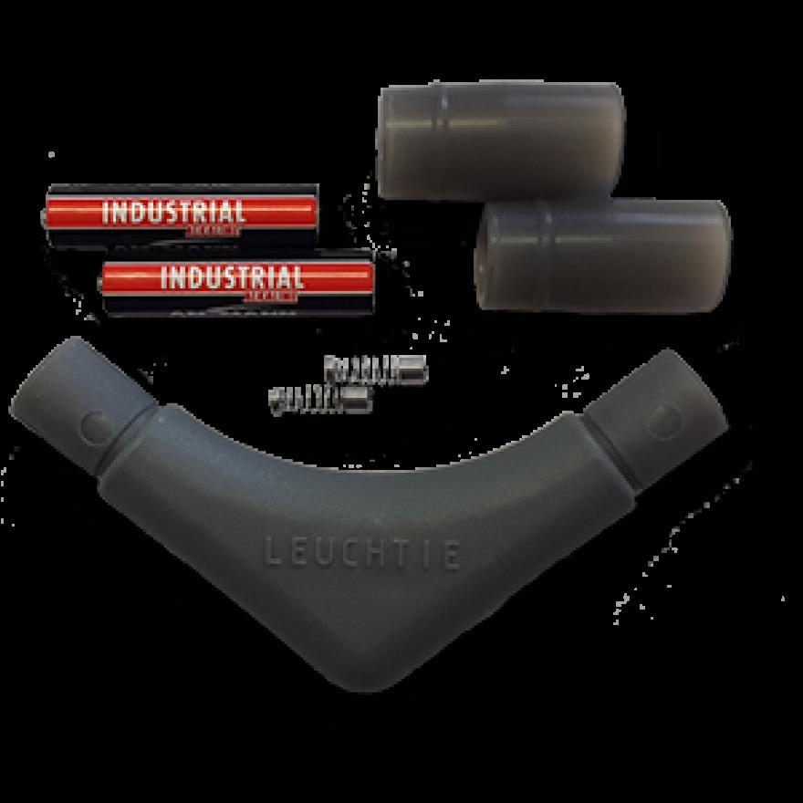 Ersatzteil-Set für LEUCHTIE Plus (Batterieteil, Silikonmuffen, Federn)