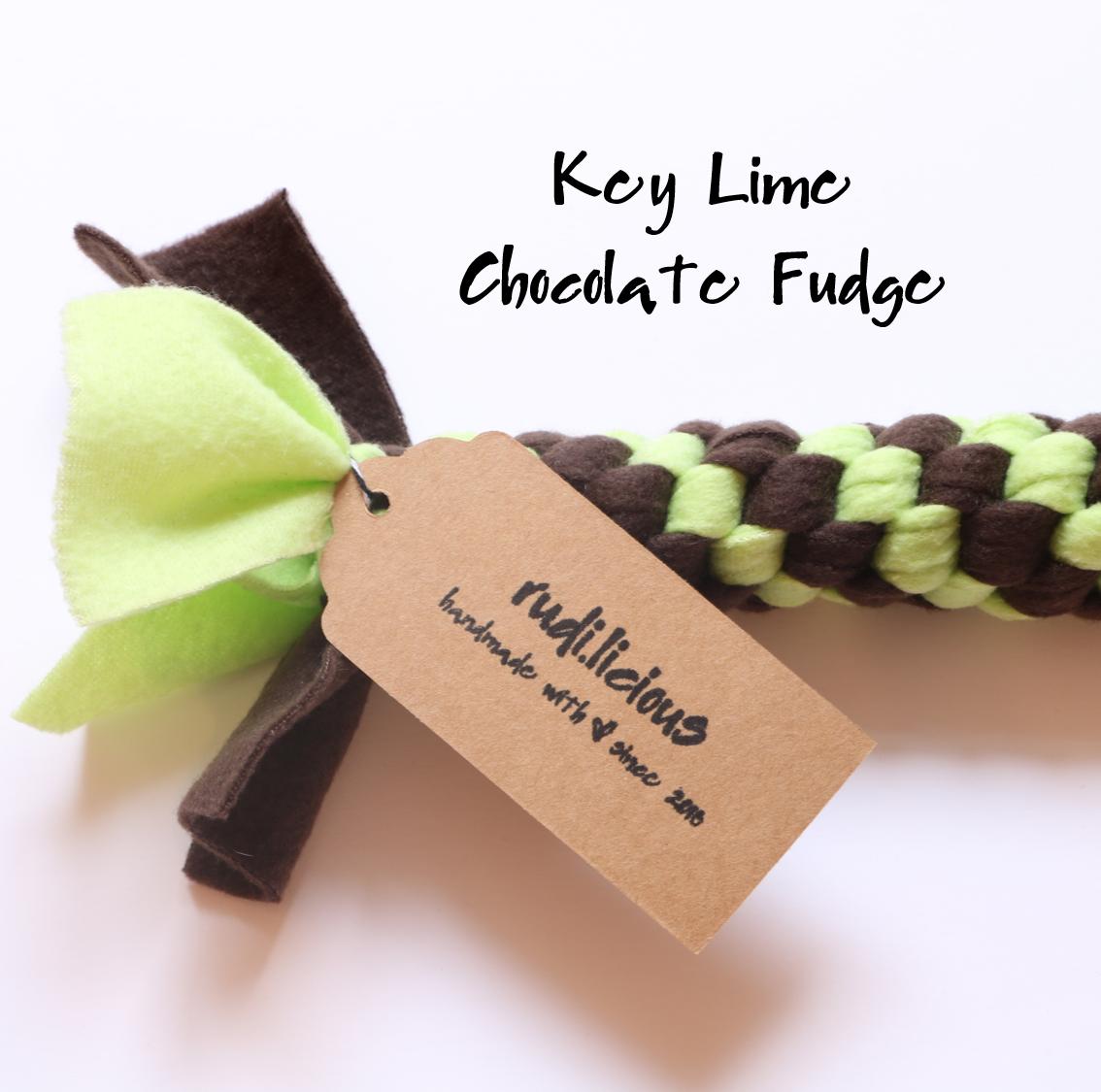 rudi.licious Öko-Tex Tauspielzeug Classic - Key Lime Chocolate Fudge