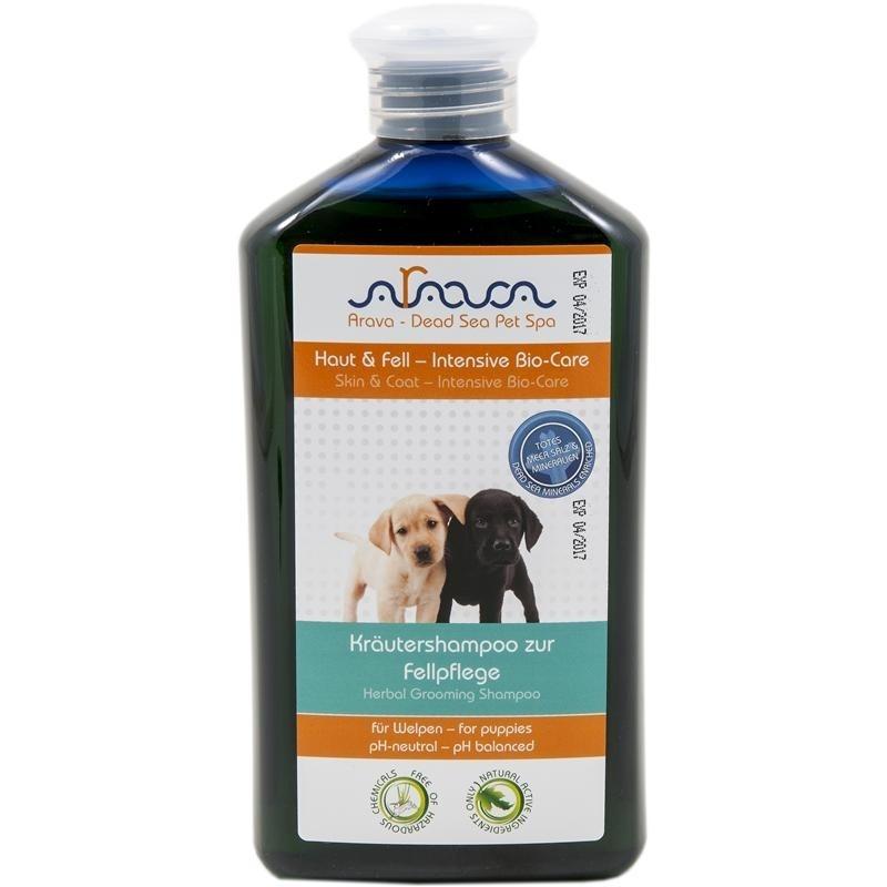 Arava Dog Welpen Kräutershampoo zur Fellpflege 400ml