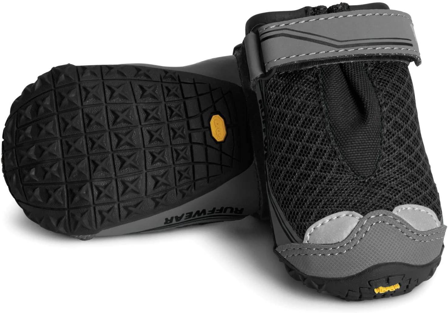 Ruffwear Grip Trex - set of 2 - Obsidian Black