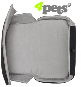 4Pets Dog Polster/Cushion für Caree Cool Grey