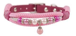 Emmy & Pepe Halsband mit Perlen Pink Drop