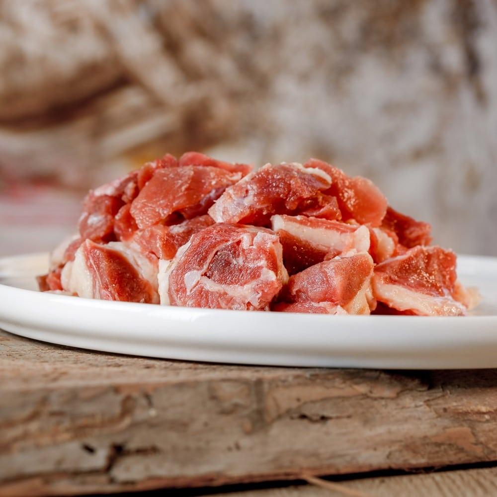 Barfgold Entenfleisch, durchwachsen gefroren, gewürfelt 1000g