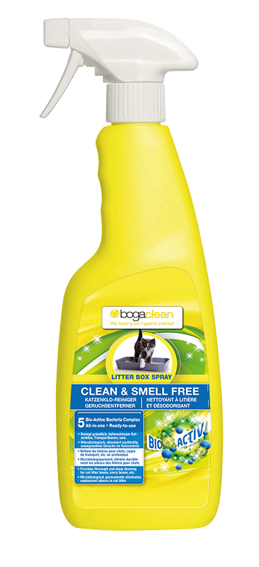 Bogaclean Clean & Smell Free Litter Box Spray Katze 500ml