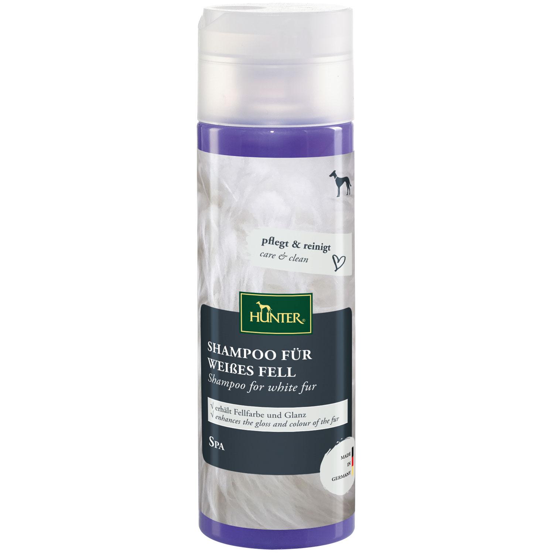 Hunter Shampoo für weißes Fell 200ml