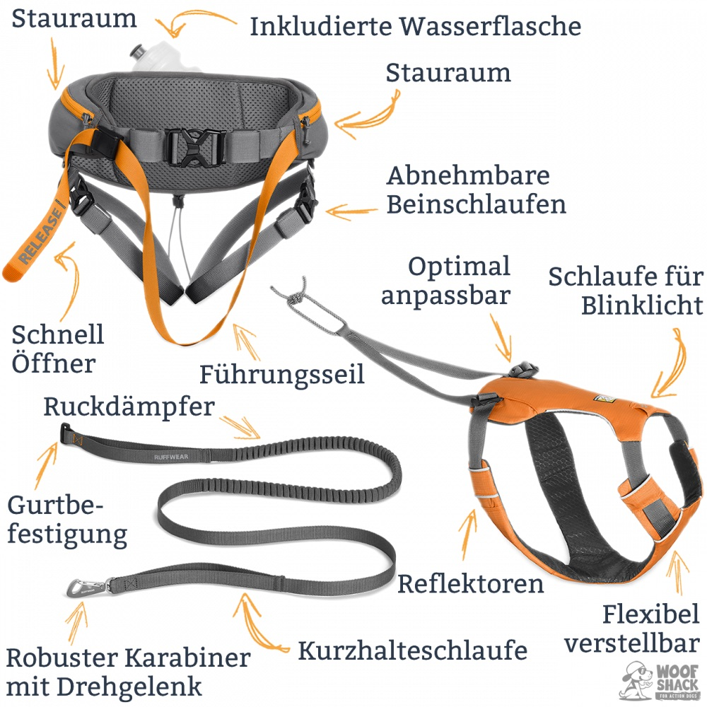 Ruffwear Omnijore Joring System