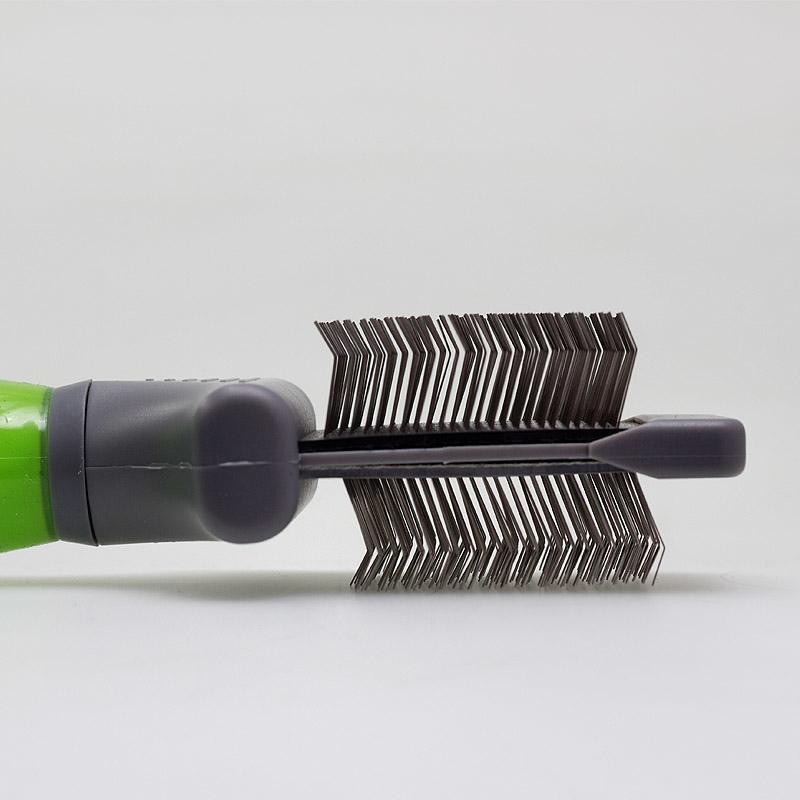 Moser Flexible Zupfbürste - zweiseitig