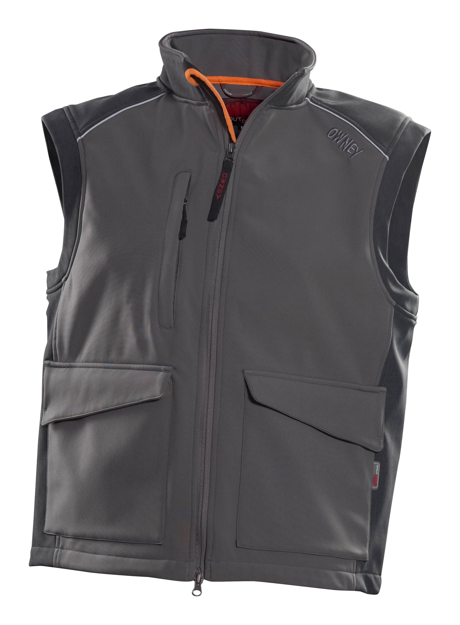 Owney Companion Softshell Vest grey