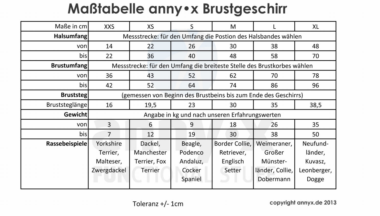 annyx Geschirr Mantrailing leuchtgelb / grau