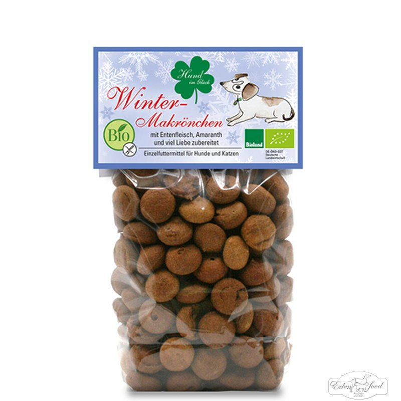 "Edenfood Leckerli Bio-Mini Ostermakrönchen ""Hund im Glück"" 100g"