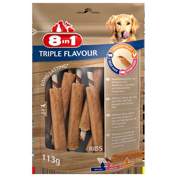 8in1 Triple Flavour Extra Meaty 6 Stück
