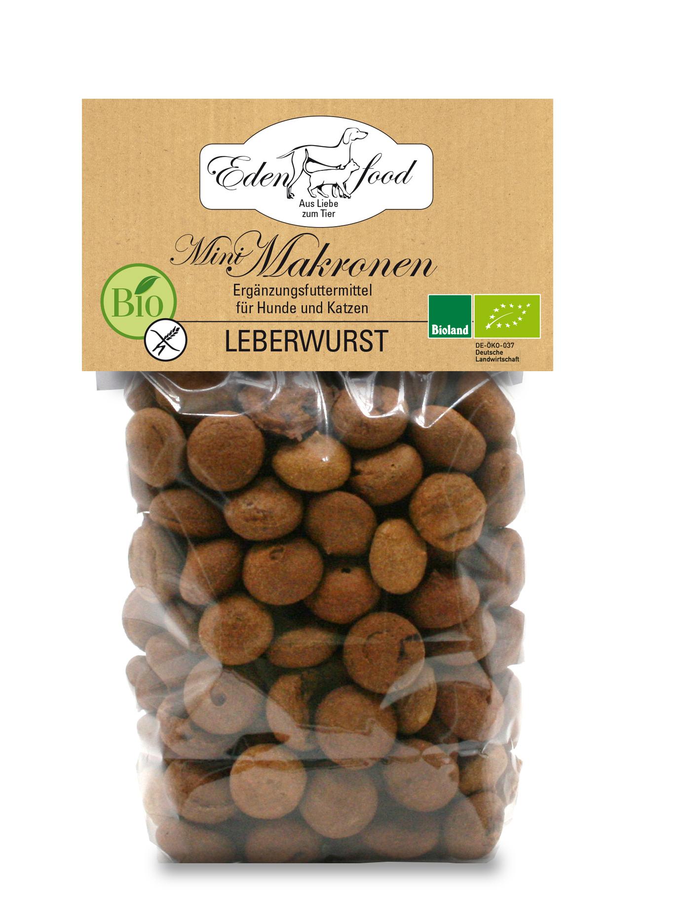 Edenfood Leckerli Bio-Mini-Makronen 100g