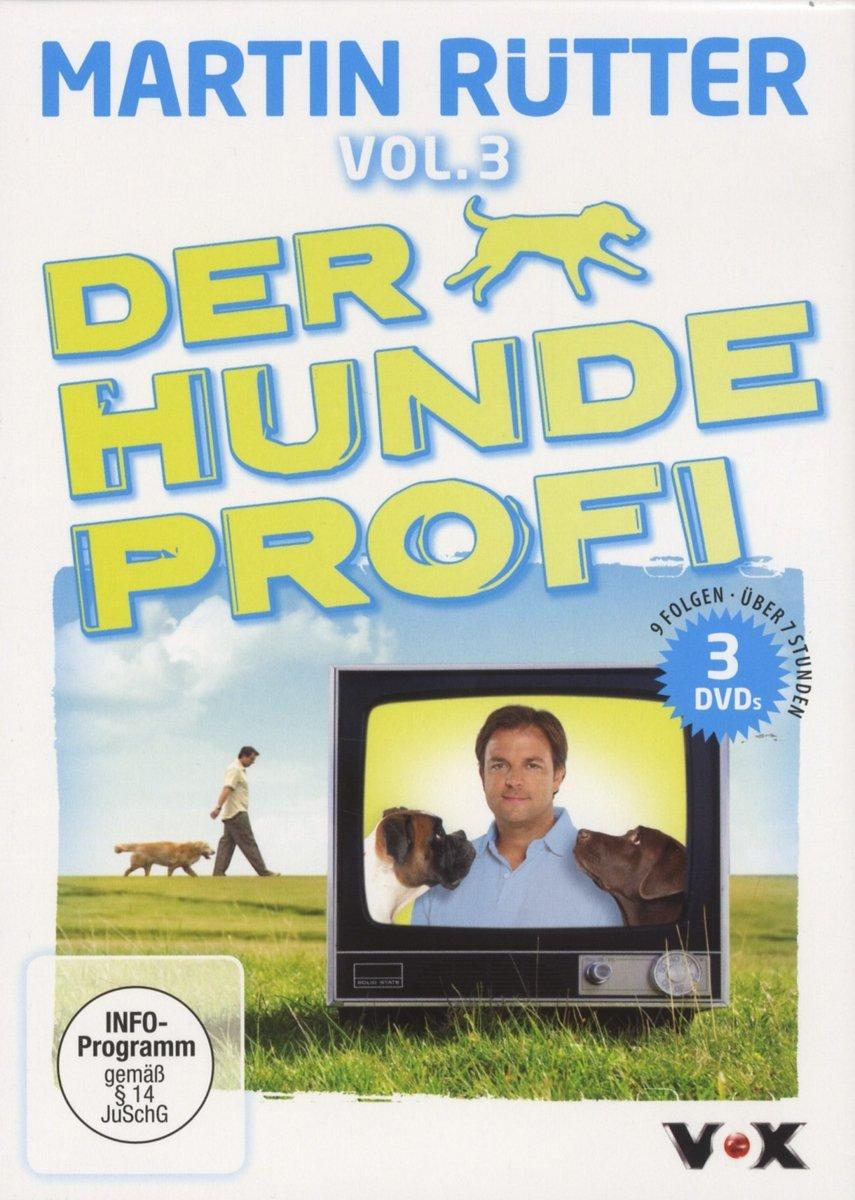 "Der Hundeprofi Vol.3 [3 DVDs] ""Martin Rütter"""