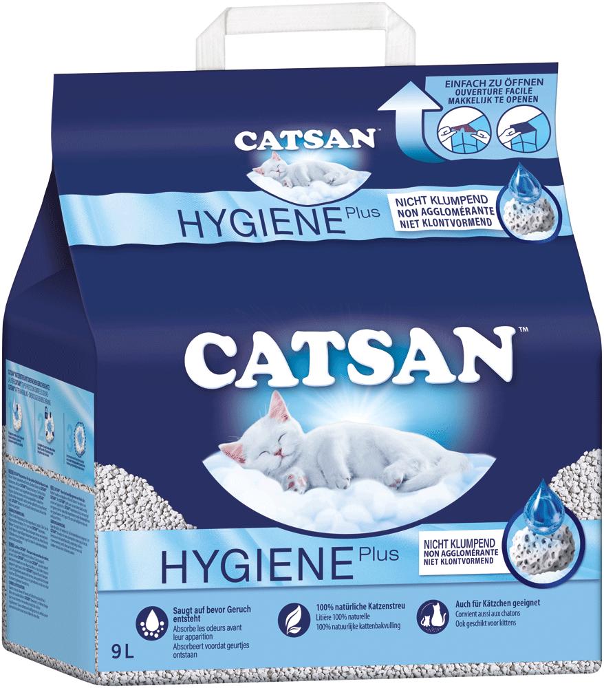 Catsan Hygienestreu Plus