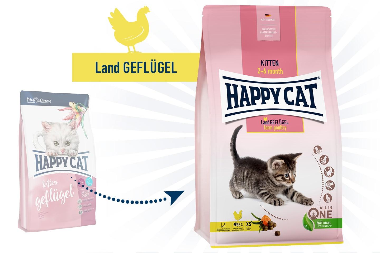Happy Cat Supreme Young Kitten LandGeflügel