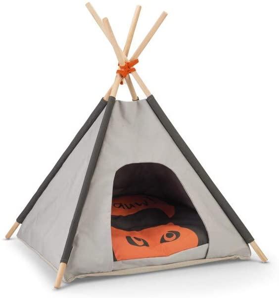 Beeztees Tipi Tent Mohaki, Grey, 50x50x80