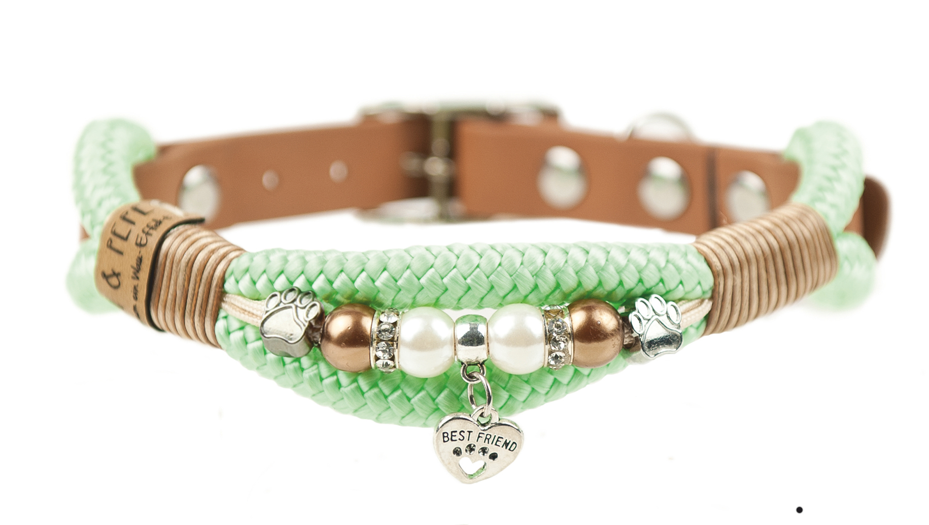 Emmy & Pepe Halsband mit Perlen Best Friend